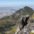 On top of Table Mountain: Devils Peak