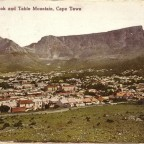 Postkarte Devils Peak and Table Mountain