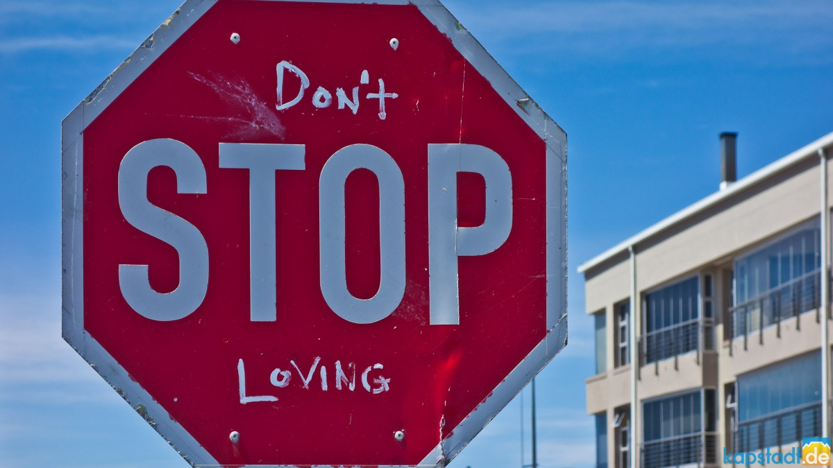 Don't Stop Loving seen in Melkbosstrand