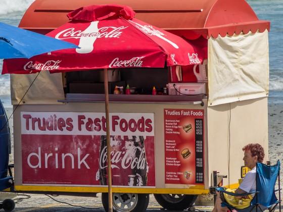 Trudies Fast Foods at Bloubergstrand