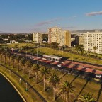 Flat building in Milnerton with Woodbridge Island