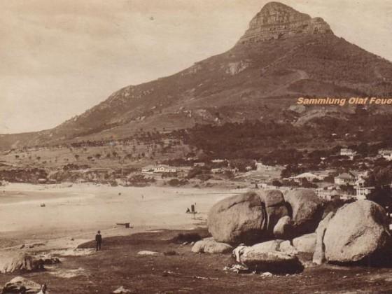 Postkarte Camps Bay 1927