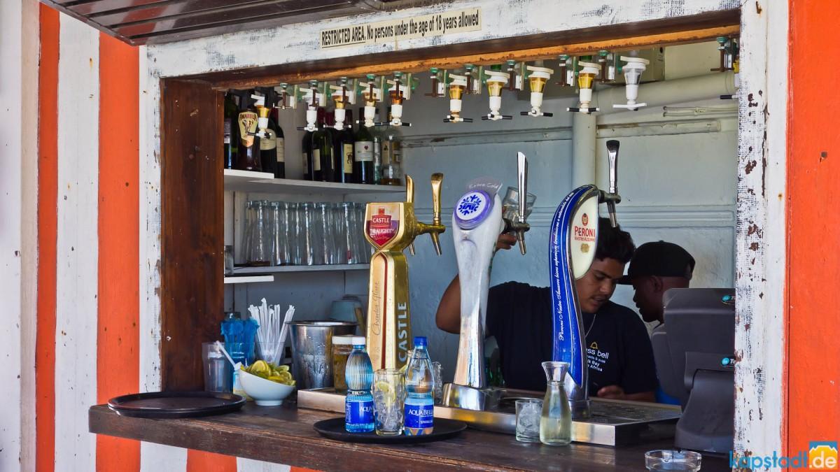 Brass Belle outdoor pub