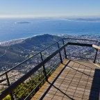 Images from on top of Table Mountain
