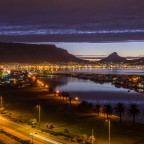 Table Mountain with Woodbridge Island seen from Milnerton