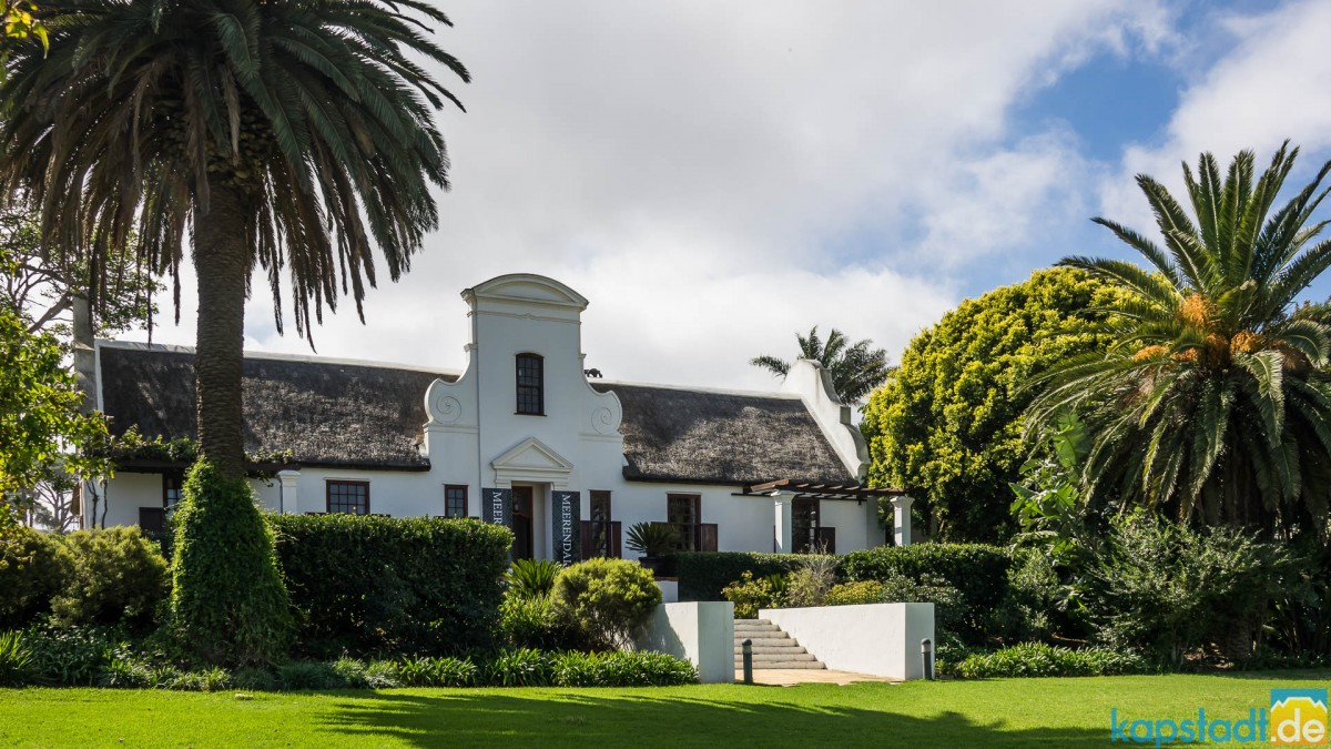 Meerendal Wine Estate near Durbanville - Manor House