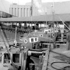 Fishing boats at the Collier Jetty c1960