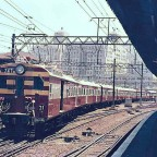 Suburban train to Bellville 1965