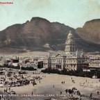 Postkarte Samstagmorgen Markt gelaufen 1903 nach Liverpool