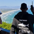 Shark spotters in Muizenberg
