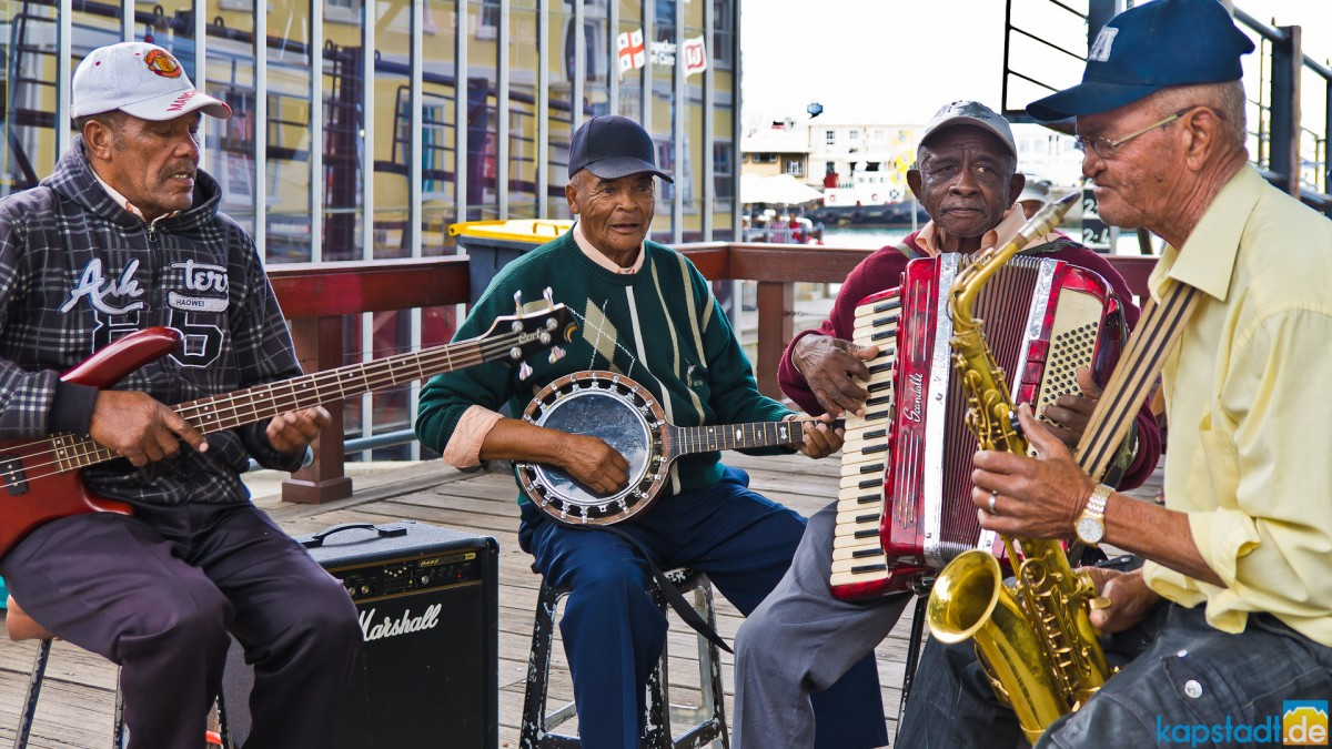 Well-kown band at the V&A Waterfront
