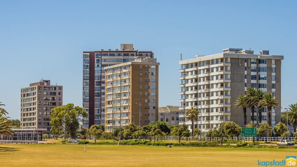 Milnerton Central flat buildings