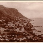 Postkarte Kalk Bay 1915
