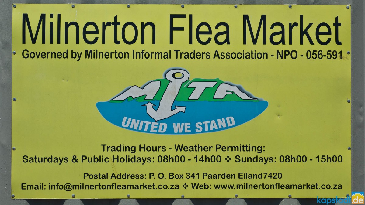 Impressions from the Milnerton Fleamarket