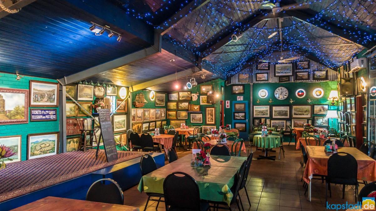 Evita se Perron in Darling: museum, comedy and restaurant of Evita Bezuidenhout