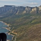 Helicopter flight: Twelve Apostels near Camps Bay