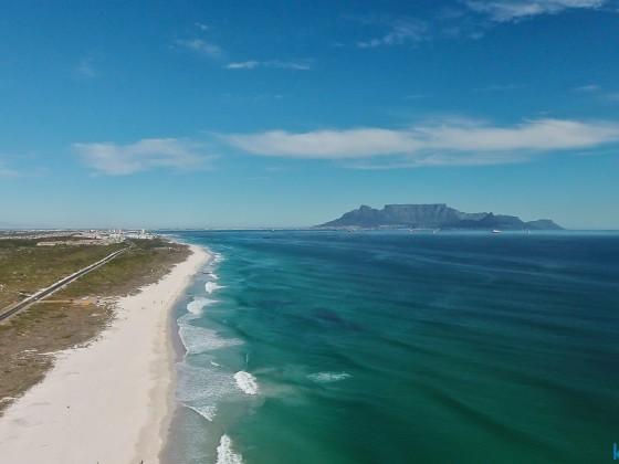 "Table Mountain from ""Eerste Steen"" braai area"