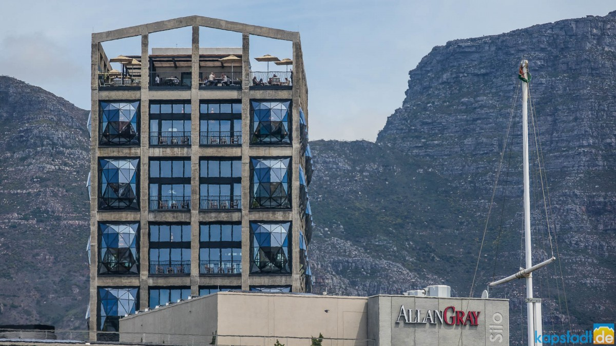 5 Star Silo Hotel at the V&A Waterfront