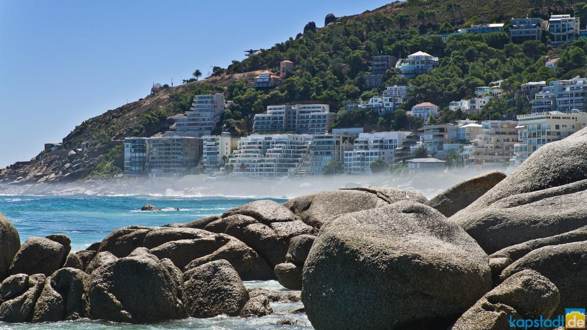 Rocky Clifton beaches