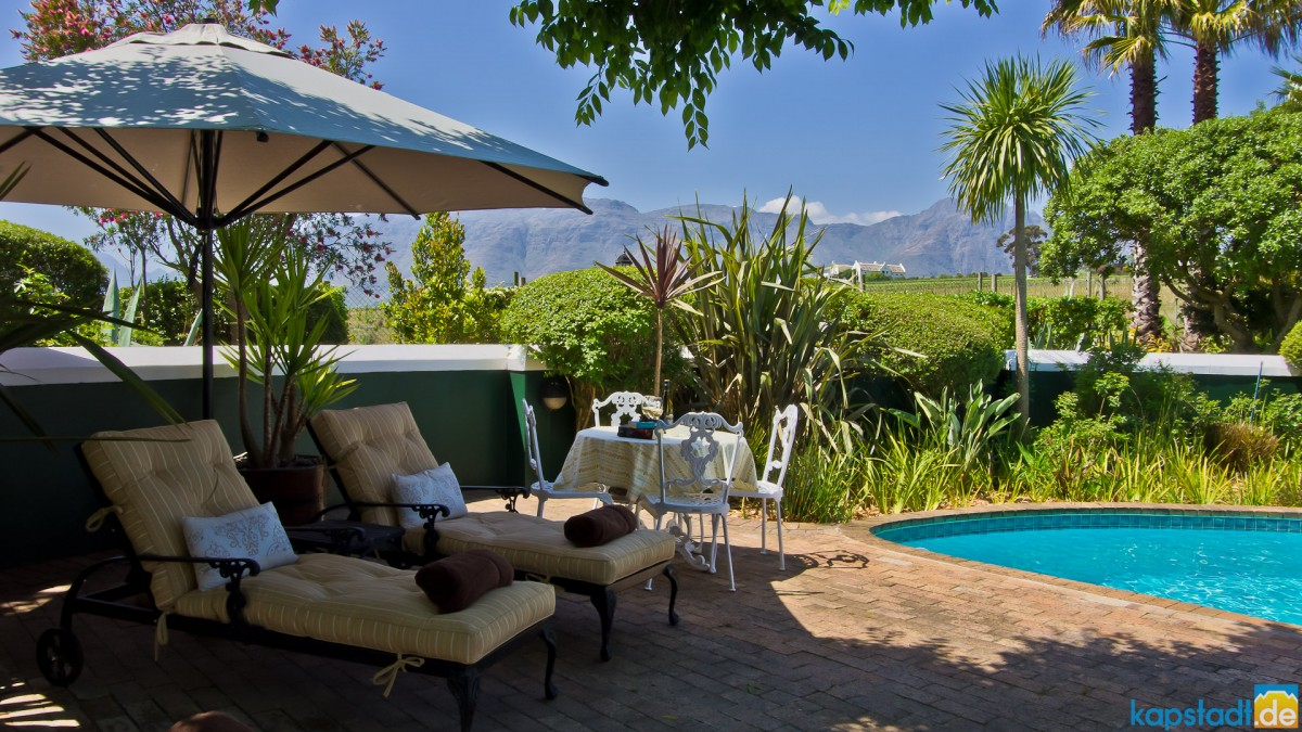 Eikendal Lodge near Stellenbosch