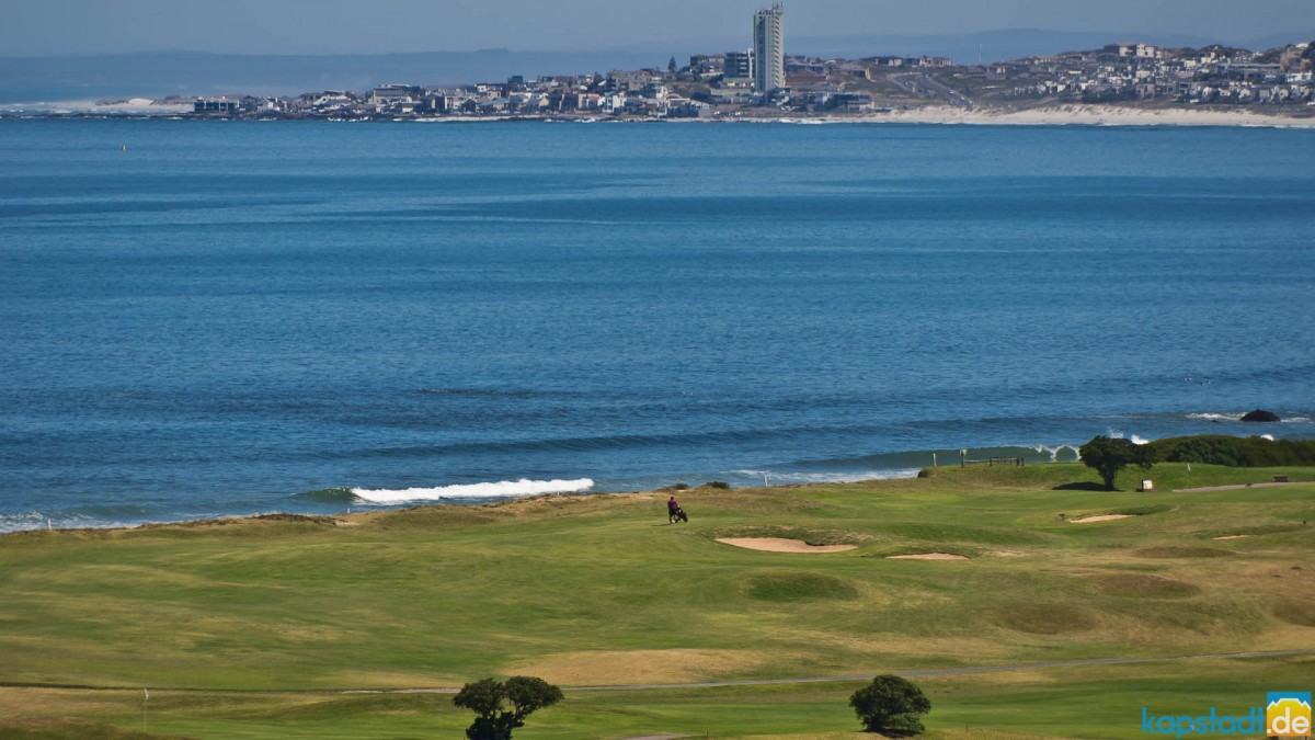 Milnerton Golf Course and Table View in the distance