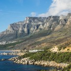 The Twelve Apostels Mountains with the Twelve Apostels Hotel and Camps Bay