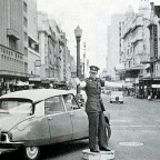 Traffic cop in Adderley street