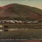 Postkarte Green Point gelaufen 1910 nach British Honduras