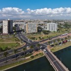Aerial drone image of Milnerton from Woordbridge Island