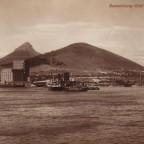 Postkarte Kapstadt Hafen 1927