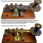 Morse Key by Elliot Brothers (1916) found on the Milnerton fleamarket before and after renovation