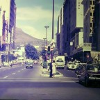 Top end of Adderley str. 1977