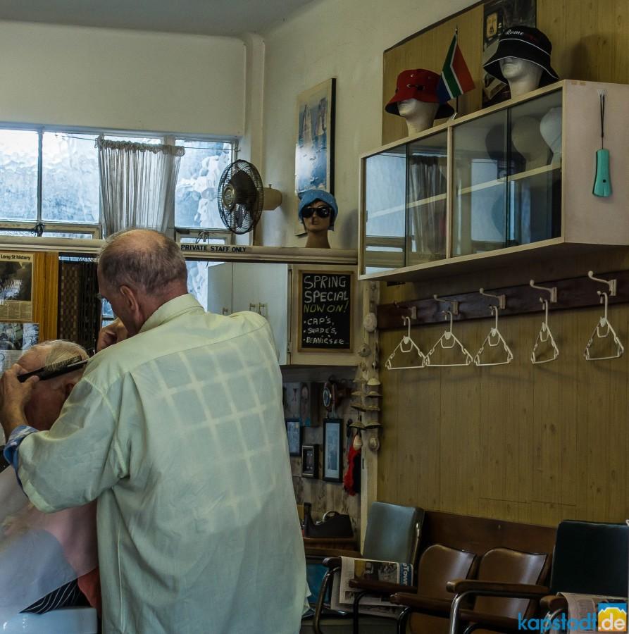 Barbershop in Long Street