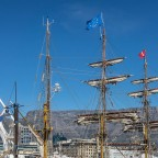 Bark Europa - dutch sailship in Cape Town