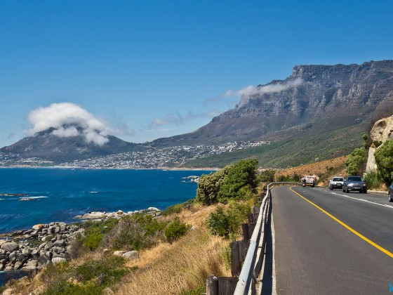 Road between Hout Bay and Camps Bay