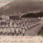 Postkarte Simonstown -the Naval Brigade- 1905