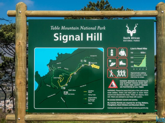 Signal Hill Information Board