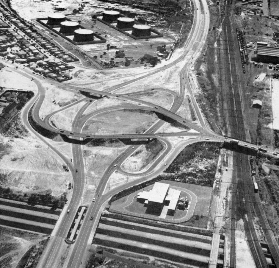 'Newly' completed Koeberg Interchange 1966