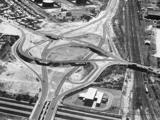 'Newly' completed Koeberg Interchange 1966