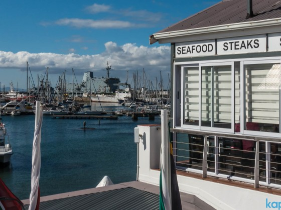 Seafood - Steaks - Salad - Restaurant at the Waterfront of Simon's Town