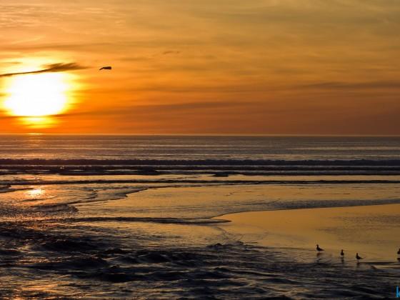 Sunset at the Milnerton Lagoon