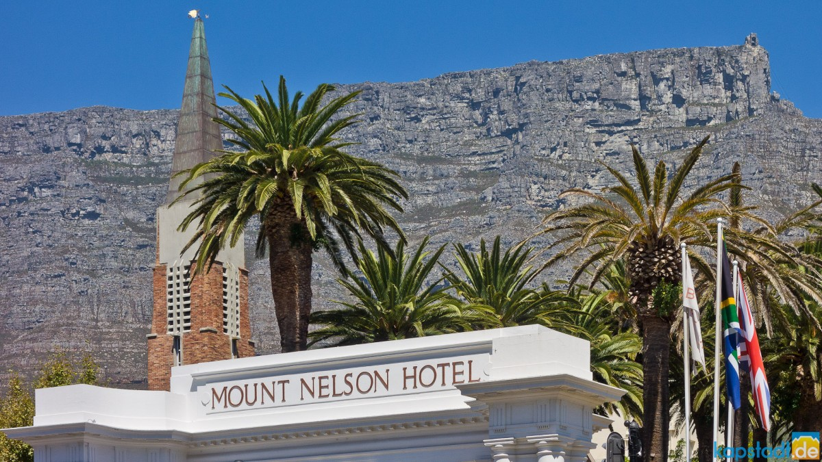 Mount Nelson Hotel entrance