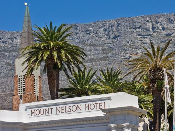 Mount Nelson Hotel entrance