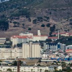Groote Schuur Hospital seen from Milnerton