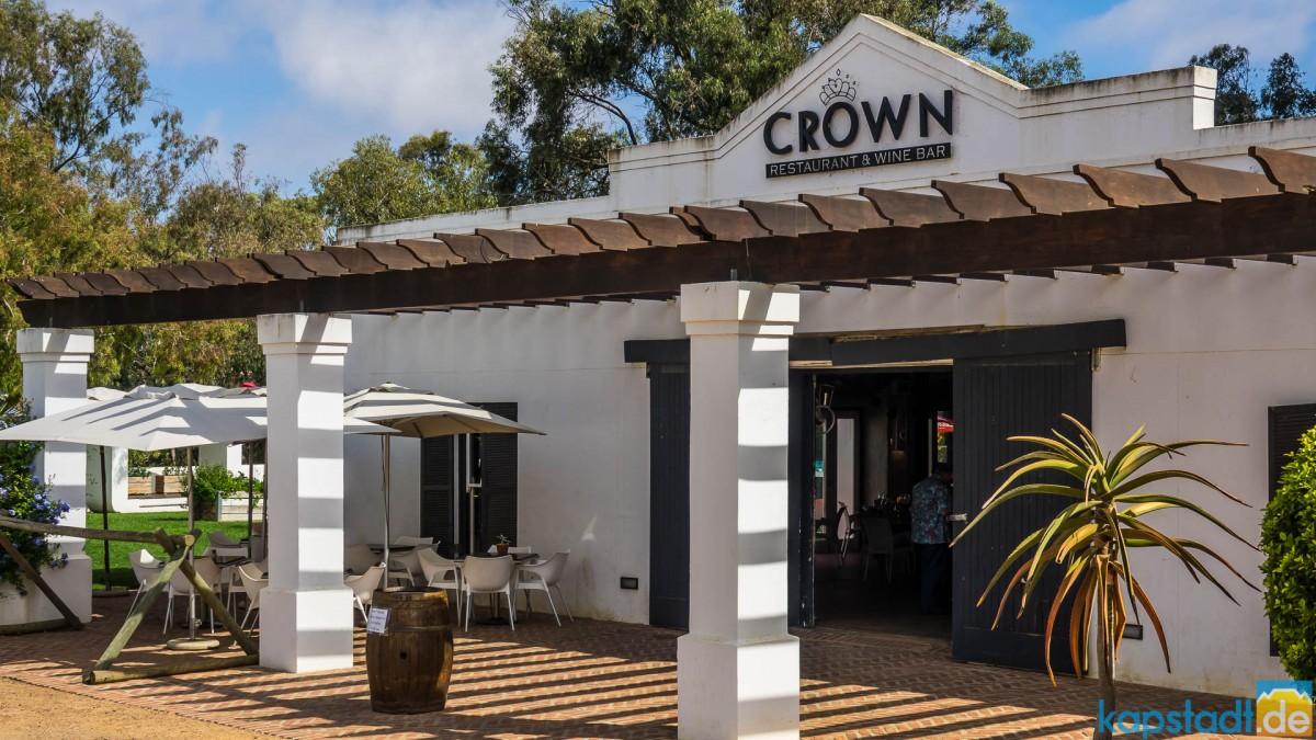 Meerendal Wine Estate near Durbanville - Crown Restaurant and Wine Bar