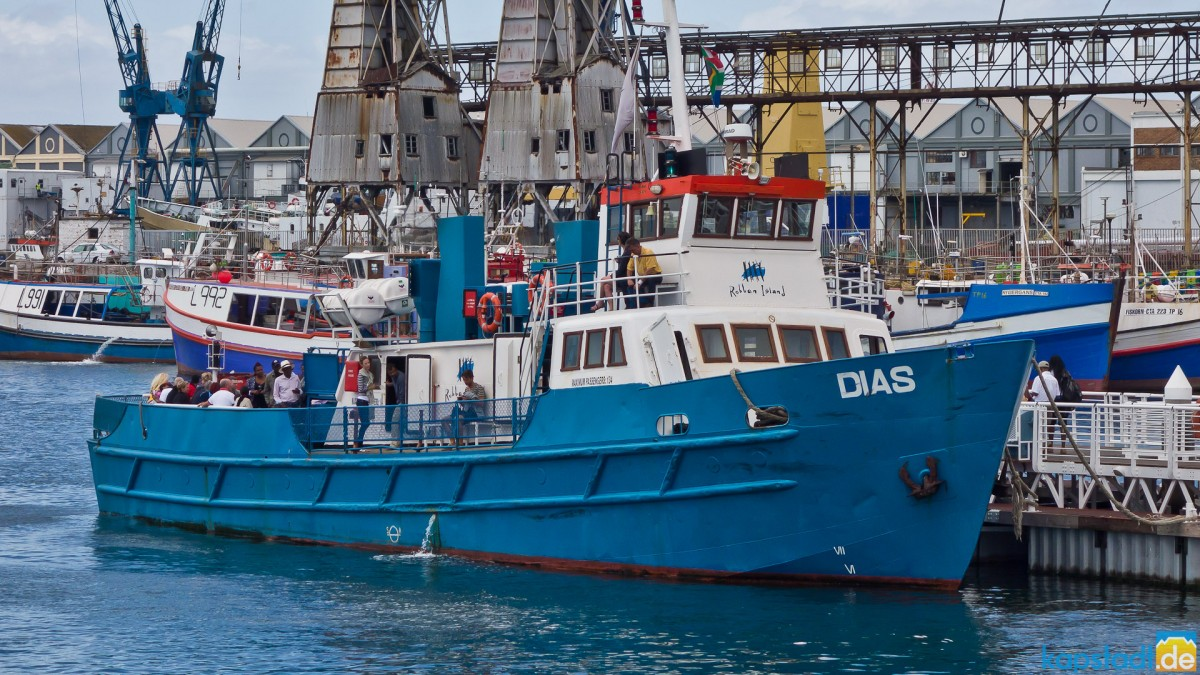 The old Robben Island supply ship