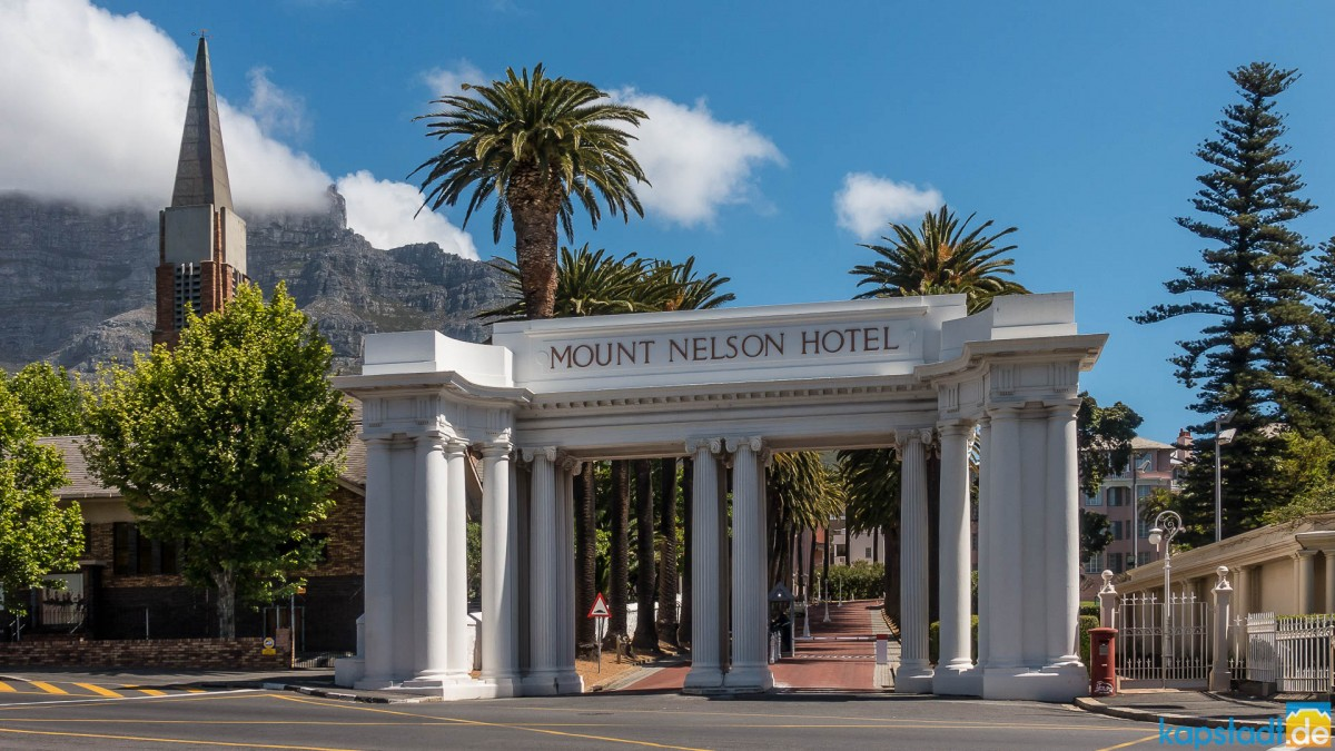Mount Nelson Hotel main entrance