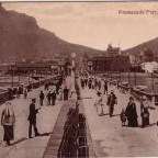 Postkarte Promenade Pier um 1905
