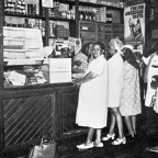 Old time Grocery shop 1950s