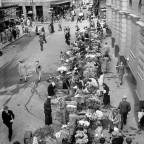 Flower sellers 1946
